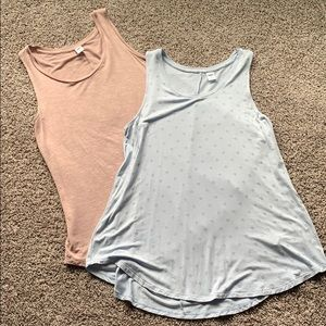 Bundle of 2 Old Navy swing tanks size small